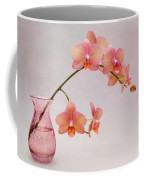 Orchids In A Pink Vase Coffee Mug