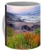 Oregon Coast Wildflowers Coffee Mug