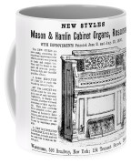 Organ Ad, 1870 Coffee Mug