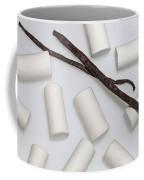 Organic Marshmallows With Vanilla Coffee Mug