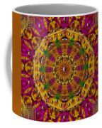 Orient Sun In Fantasy Style Coffee Mug