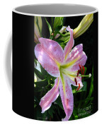 Oriental Lily Named Tom Pouce Coffee Mug
