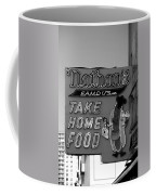 Original Nathan's In Black And White  Coffee Mug
