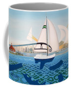 Coronado Sailin' - Memoryscape Coffee Mug
