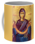 Orthodox Icon Virgin Mary Coffee Mug