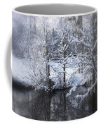 Our Pond In The Snow Coffee Mug
