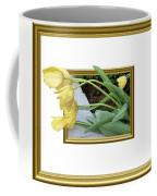 Out Of Frame Yellow Tulips Coffee Mug