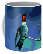 Out On A Limb - Blue Coffee Mug
