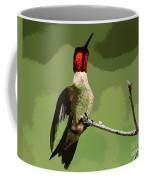Out On A Limb - Green Coffee Mug