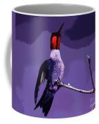 Out On A Limb - Purple Coffee Mug