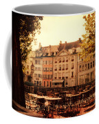 Outdoor Cafe In Lucerne Switzerland  Coffee Mug