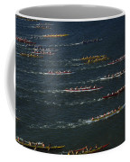 Outrigger Canoes Race From Molokai Coffee Mug
