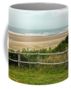 Over The Fence Ocean View Coffee Mug