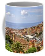 Over The Roofs Of Sanremo Coffee Mug by Joana Kruse