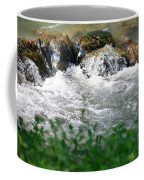 Over The Stones The Water Flows Coffee Mug