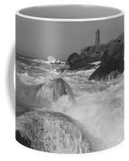 Overflooding Black And White Coffee Mug