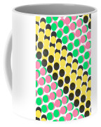 Overlayed Dots Coffee Mug by Louisa Knight