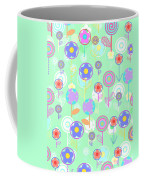 Overlayer Flowers  Coffee Mug