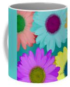 Oversize Daisies Two Coffee Mug