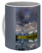 Oxbow Light And Clouds Coffee Mug