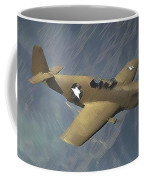 P 51 Mustang On A Mission Coffee Mug