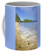 Pacific Ocean Coast On Vancouver Island Coffee Mug