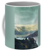 Pacific Ocean Fog Bank  Coffee Mug