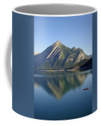 Sunrise Paddle In Peace - Kananaskis, Alberta Coffee Mug