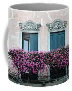 Padua Balcony And Window Boxes Coffee Mug