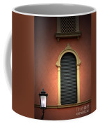 Padua Window And Lamp Light Padua Italy Coffee Mug