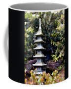 Pagoda Tower Of Zen Coffee Mug