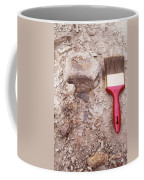 Paint Brush Next To Camarasaurus Coffee Mug