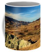 Painted Blue Basin Coffee Mug