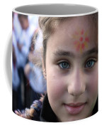 Painted Face At 1st Nativity International Christmas Festival Coffee Mug