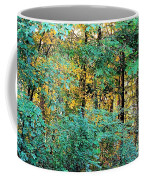 Painted Gold With Sunlight Coffee Mug