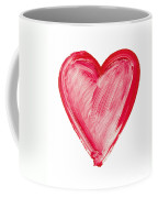 Painted Heart - Symbol Of Love Coffee Mug