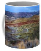 Painted Hills At Dusk Coffee Mug