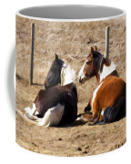 Painted Horses I Coffee Mug
