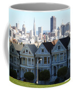 Painted Ladies Coffee Mug by Linda Woods
