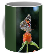 Painted Lady In A Shower Coffee Mug