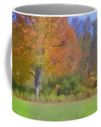 Painted Leaves Of Autumn Coffee Mug