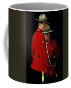 Painted Mounties Coffee Mug