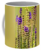 Painted Purple Sage Salvia Coffee Mug