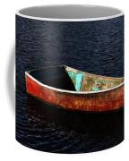 Painted Row Boat Coffee Mug
