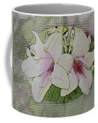 Painted Weigela Window Coffee Mug