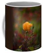 Painterly Yellow Rose Coffee Mug