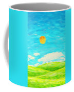 Painting Of Nature In Spring And Summer Coffee Mug