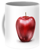 Painting Of Red Apple Coffee Mug