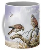 Pair Of Kestrels Coffee Mug