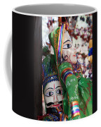 Pair Of Large Puppets At The Surajkund Mela Coffee Mug